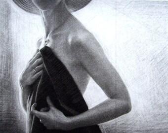 "Original art print ""Sun"" - 3. Mezzotint Edition of 100"