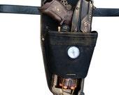 Steampunk STRONGARM toy Gun HOLSTER  BELT Zombie walking man Nerf soft dart Vampire Victorian cosplay Limited