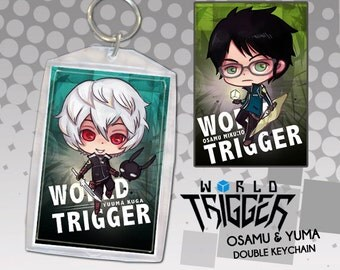 World Trigger Anime Keychain