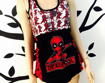 Deadpool Tank Top LARGE