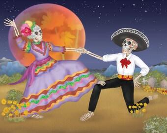 Dancing in the Desert Miniprint