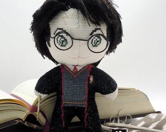 Harry Potter Doll 3D Cross Stitch Sewing Pattern PDF