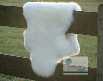 Genuine Soft Precious Lovely Divine Unique Gorgeous Handmade Natural Sheepskin Rug
