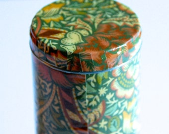 Upcycled - William Morris Tea Canister