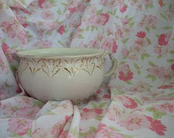 antique chamber pot etsy. Black Bedroom Furniture Sets. Home Design Ideas