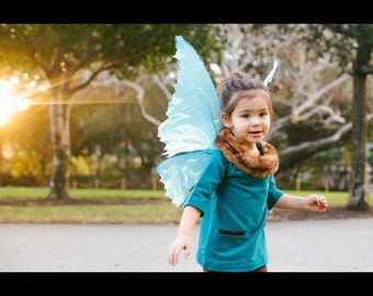Child size, life like fairy wings