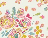 Art Gallery - Fleet & Flourish Collection - Swifting Flora in Fond - By the Yard