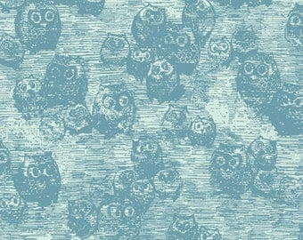 Art Gallery - Wonderland Collection - Owly in Blue