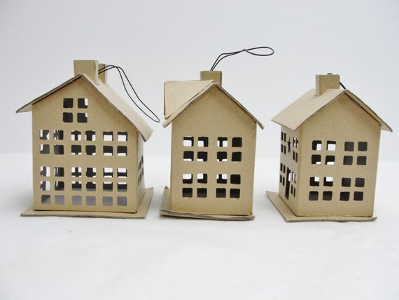 Putz House Diy Make Your Own Putz House Mini House