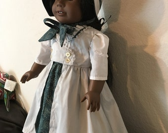 Regency Style outfit for 18 inch doll