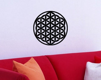 Flower of Life Sacred Geometry WALL ART New Age Decal