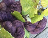 Buccaneer Wine on the Vine - Suri Alpaca Sport Weight Yarn