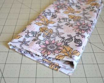 antique flower - julia rothman - miscellany - cloud 9 fabric - 100% organic cotton