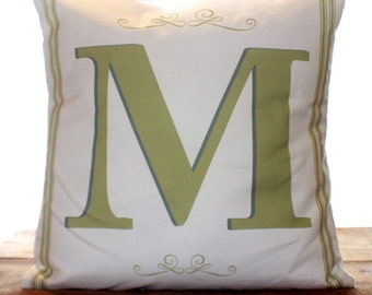Custom Initial Pillow