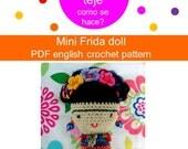 Frida Kahlo Amigurumi - Mini Frida Doll