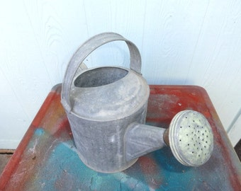 Vintage Galvanized Watering Can Rustic Wedding Decor