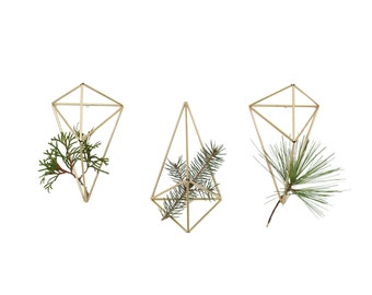 JURE - Geometric Modern Wall Ornament - Set of 3 - Himmeli