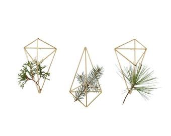 JURE - Geometric Modern Wall Ornament - Set of 3 - Himmeli