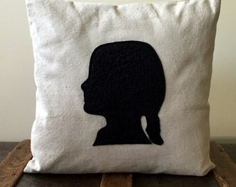 The Silhouette Pillow