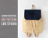 London Backpack - PDF Sewing Pattern