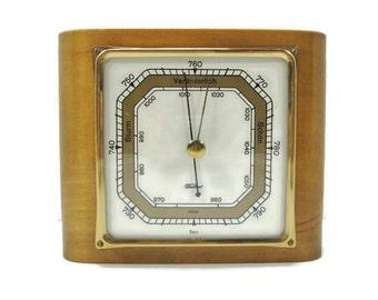 German Barometer in Beautiful Wooden Case
