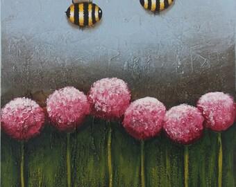 Busy Bee - Original Painitng