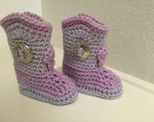 Baby Cowgirl Boots, Crochet Cowboy Boots, Girl Western Boots