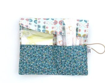 Tampon Case - Sophia - pad holder Feminine Product Case Privacy Pouch