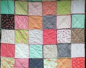 Farmhouse Cozy Rag Quilt Help with Missionary Trip