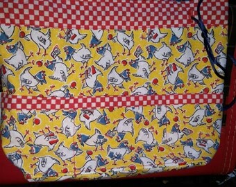 DrawString Lined Project Bag