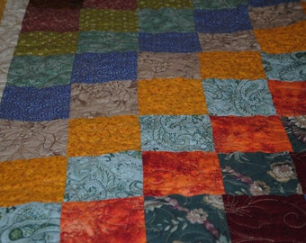 """Fall Is In The Air Full Size Quilt   65"""" x 69"""" Free S/h US Only!"""