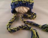 baby boy clothes, Baby Boy Hat, Crochet Newborn boy Hat, crochet earflap hat, Photography Prop, Baby girl hat