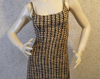 Vtg 1990s Batik print Mini sun dress Small Medium
