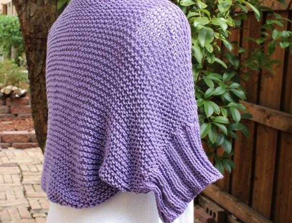 Easy Shrug Knitting Pattern Free : Knitting pattern knit shrug patterns cotton by