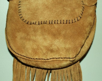 Hand Made Leather Hippie Bag-Great  Spring Sale.