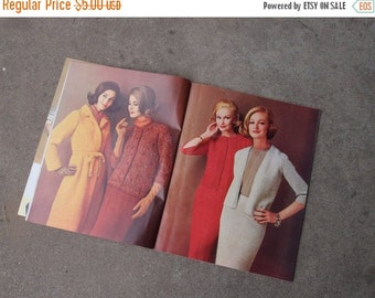 SALE SALE SALE Vintage Magazine Modern Needle Craft Fall Winter No 42 Knit Crochet Fashions Full Color Sewing Patterns