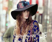 SALE-  Urban Cowgirl Floppy Felt Hat- Reg. 148.00