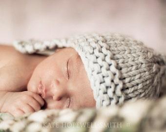 KNITTING PATTERNS baby boy hats aviator 'snuggler'