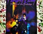 "PURPLE RAIN Vinyl 12"" Record, Prince & The Revolution, Original 1984 Vintage Record, Music From Movie Warner Bros. 1-25110"