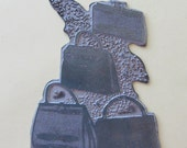 Vintage 1960s Sears Advertising Printing Plate-Handbags/Purses