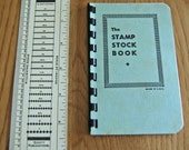 Vintage Stamp Stock Book and Scott's Ruler - great tools for stamp collector