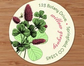 Willow Botanical Print - Address Labels or Stickers