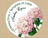 Hydrangeas - Address Labels or Stickers