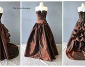 Custom listing for Donna -steampunk wedding dress-alternative wedding gown-alternative dress-unique wedding dress-denver-the secret boutique