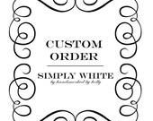 Custom Order for Cruise