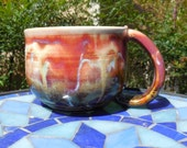 Candy Cloud VII Colorful 14 oz coffee or tea ceramic mug