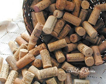 Salvaged Natural Wine Cork Lot of 50