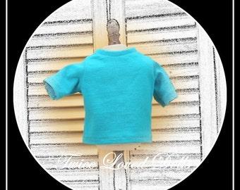 Boy Doll Short Sleeve T-shirt - Boy Doll Clothes for 18 Inch Dolls like American Girl, Magic Attic and Battat