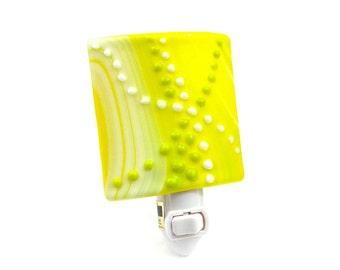 NightLight, Bright Yellow and Green Shade, Modern Home Decoration