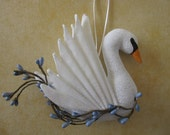 Seven Swans a Swimming - 12 Days of Christmas Ornament